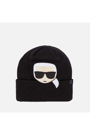 Karl Lagerfeld Women Beanies - Women's K/Ikonik Embroidery Beanie