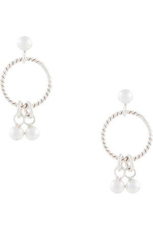 Petite Grand Women Earrings - Droplet Studs hoop earrings