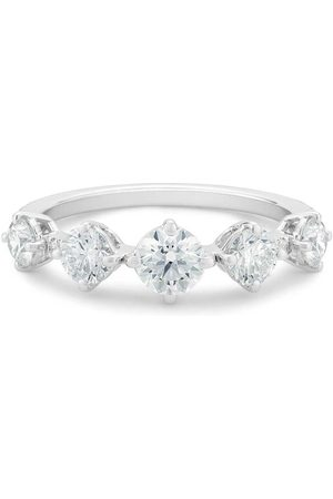 De Beers Women Rings - 18kt white gold Arpeggia diamond one row ring