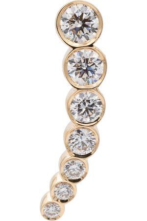 SOPHIE BILLE BRAHE Petite Croissant de Lune 18kt single earring with diamonds