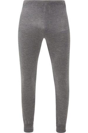Prada Logo-jacquard Cashmere-blend Track Pants - Mens