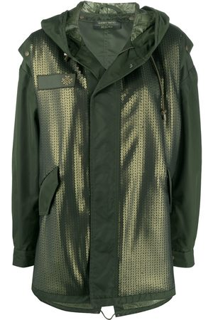 Mr & Mrs Italy X Audrey Tritto sequin-embellished parka coat