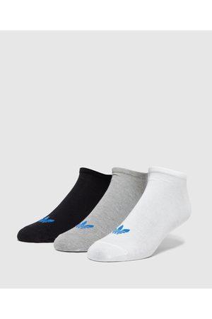 adidas Men's 3-Pack Trefoil Liner Socks