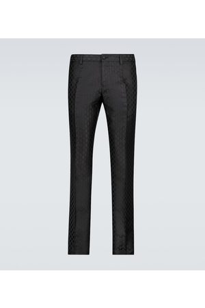 Dolce & Gabbana Men Formal Trousers - Exclusive to Mytheresa – formal jacquard pants