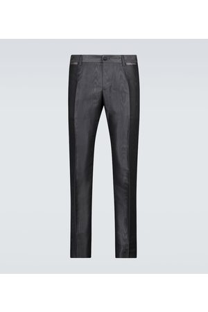 Dolce & Gabbana Men Formal Trousers - Exclusive to Mytheresa – faille moiré formal pants