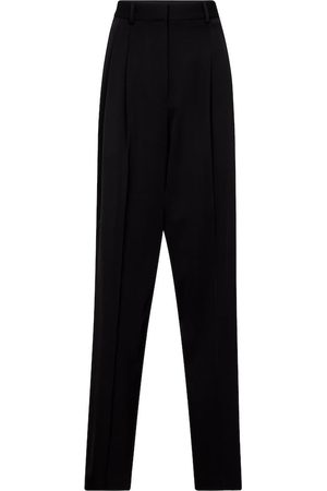 Stella McCartney Women Formal Trousers - High-rise straight wool pants