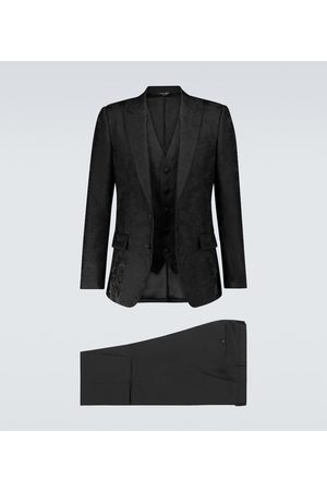 Dolce & Gabbana Men Suits - Exclusive to Mytheresa – jacquard single-breasted suit