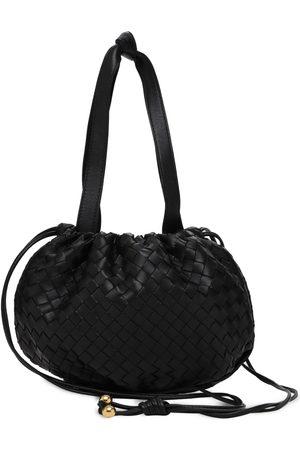 Bottega Veneta Women Handbags - Intrecciato Leather Shoulder Bag