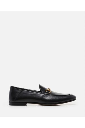 Gucci Men Loafers - Leather moccasin with horsebit size 10