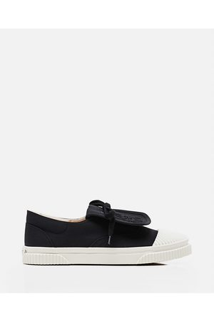Loewe Women Trainers - Anagram canvas sneaker with flap size 36