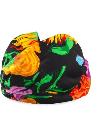 Gucci X Ken Scott floral print velvet headband