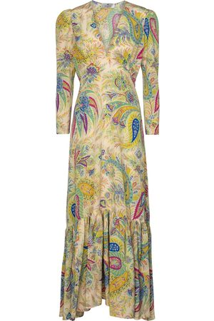 Etro Paisley silk maxi dress