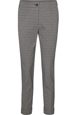 Etro High-rise printed slim pants