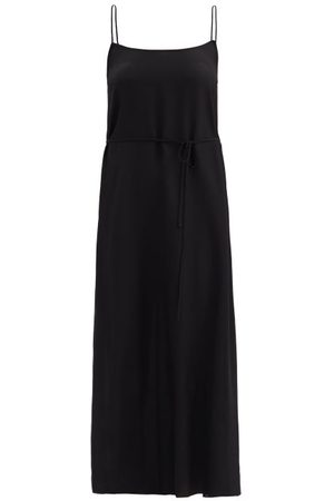 Raey Tie-waist Silk Crepe De Chine Slip Dress - Womens