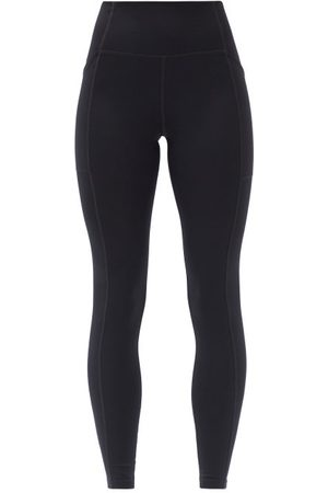 GIRLFRIEND COLLECTIVE Women Sports Leggings - High-rise Pocketed Leggings - Womens