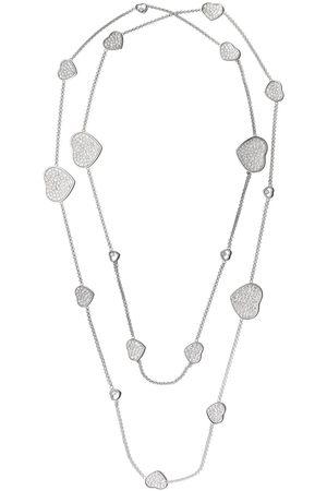 Chopard 18kt diamond Happy Hearts necklace