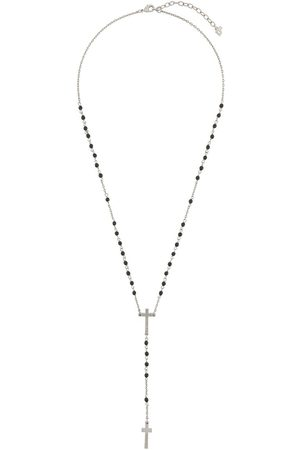 Dsquared2 Beaded cross necklace