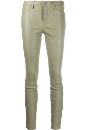 J Brand Skinny fit leather trousers