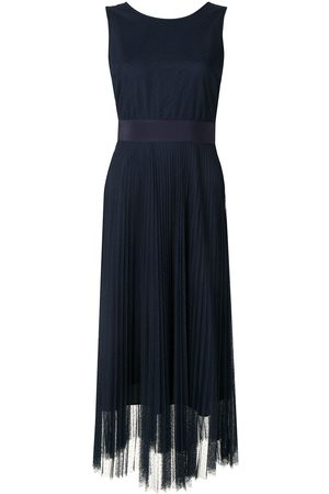 Twin-Set Swiss dot-tulle dress