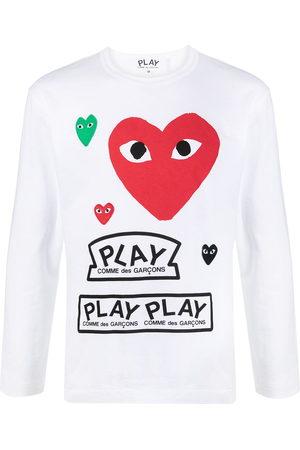 Comme des Garçons Logo-print longsleeved t-shirt