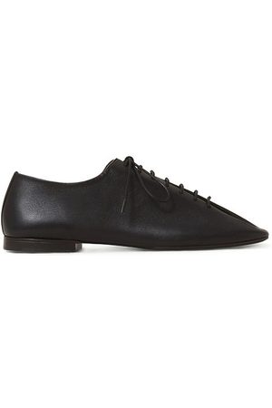 Lemaire Crepe-sole Grained-leather Shoes - Womens