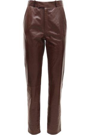 Zeynep Arcay Mom Leather Pants
