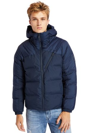 Timberland Men Summer Jackets - Neo summit hooded jacket for men in navy , size 3xl