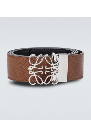 Loewe Anagram leather belt