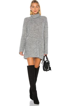 L'Academie Sable Sweater Dress in . Size M, S, XL, XS, XXS.
