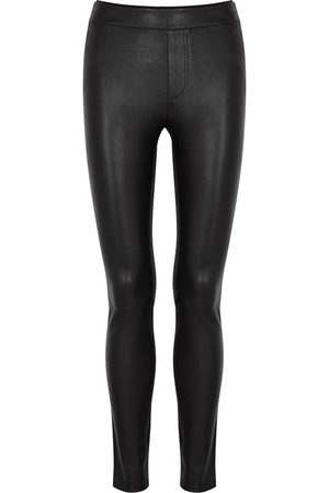 Helmut Lang Women Leather Trousers - Leather Leggings