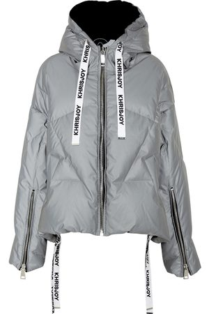 KhrisJoy Women Jackets - Reflective Quilted Shell Jacket
