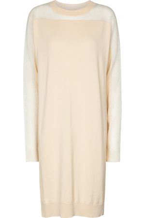 Maison Margiela Cotton-blend sweater dress