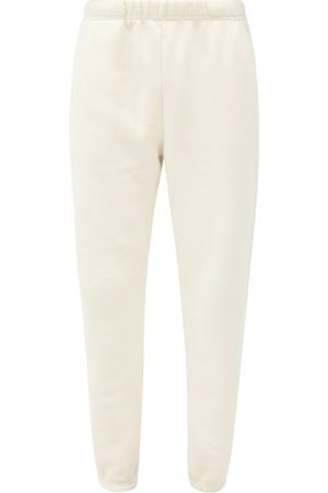 Les Tien Brushed-back Cotton-jersey Track Pants - Mens