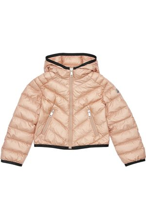 Moncler Cexing Hooded Nylon Down Jacket