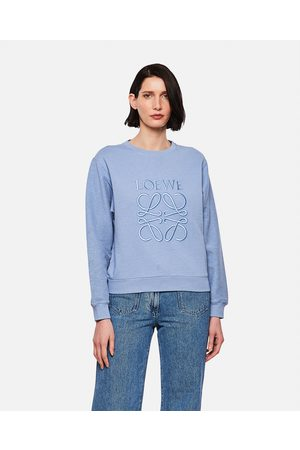 Loewe Sweatshirt with anagram embroidery in cotton size M