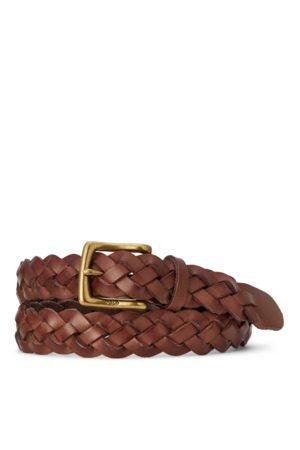 Polo Ralph Lauren Braided Calfskin Belt