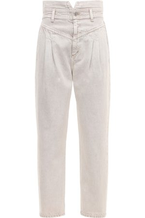 Citizens of Humanity Maeve Pleated Cotton High Rise Jeans