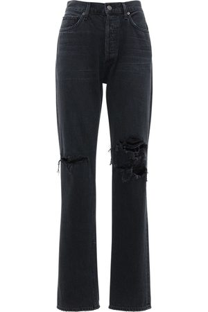 AGOLDE Lana Jean Low Rise Straight Jeans