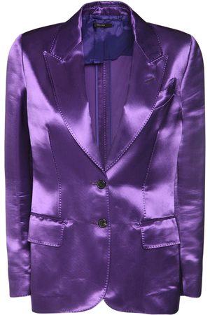 Tom Ford Women Jackets - Heavy Viscose Satin Jacket
