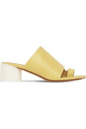 MM6 MAISON MARGIELA 45mm Leather Thong Sandals