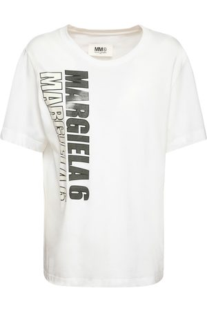 MM6 MAISON MARGIELA Printed Cotton Jersey T-shirt