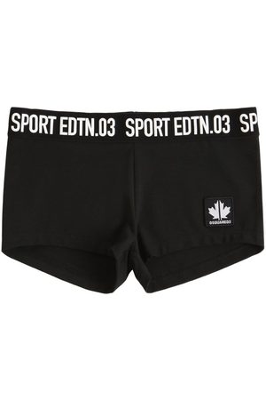 Dsquared2 Stretch Cotton Jersey Shorts