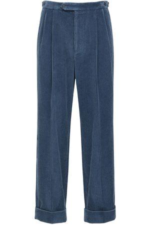 Gucci Avio Corduroy Pants W/leather Patch