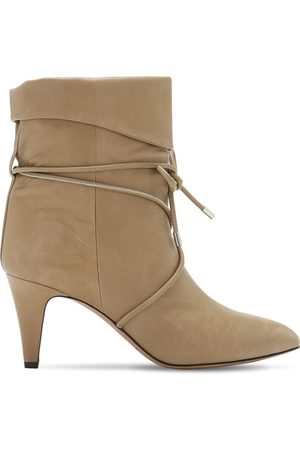 Isabel Marant 75mm Lilda Leather Ankle Boots
