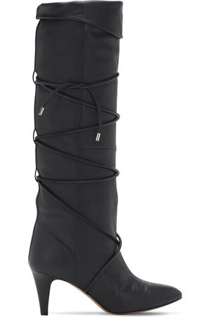 Isabel Marant Women High Leg Boots - 75mm Lades Leather Tall Boots