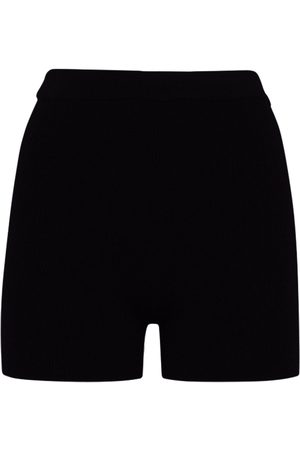 Jacquemus Viscose Blend Rib Knit Cycling Shorts