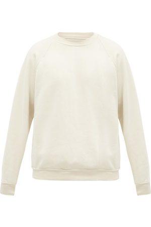 Les Tien Crew-neck Brushed-back Cotton Sweatshirt - Mens