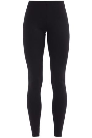 The Row Woolworth High-rise Scuba Leggings - Womens