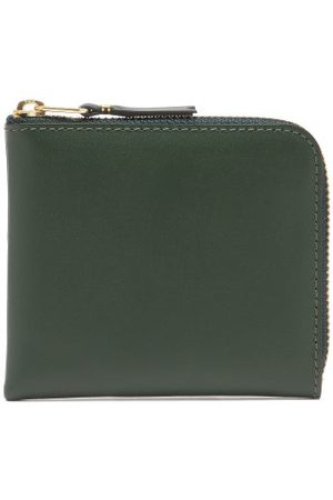 Comme des Garçons Women Handbags - Zip-around Grained-leather Wallet - Womens