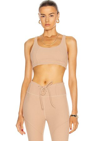 YEAR OF OURS Thermal Lily Bra in Tan
